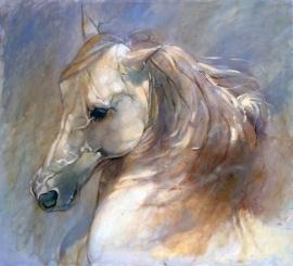 Natasa Kodela, Silver, Oil on Canvas, 42x38cm, £480