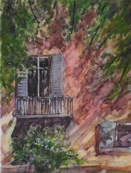 Zoran Zivotic, Ivy, Watercolour, 20x15cm, £130