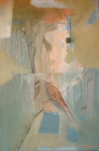 Zoran Calija, Returning Home, Oil on canvas, 60x40cm