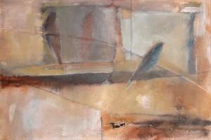 Zoran Calija, Morning Glimpse of a Dream, Oil on canvas, 40x60cm, On display at Landmark Arts Centre