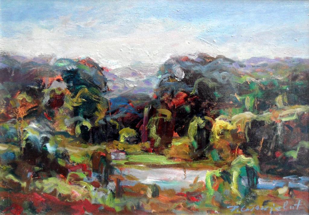 rade-stanojevic-landscape-oil-on-canvas-25x35cm