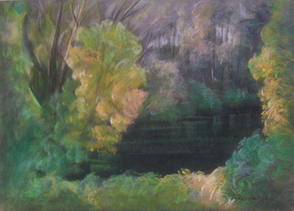 mirjana-krstevska-river-bank-pastel-35x50cm